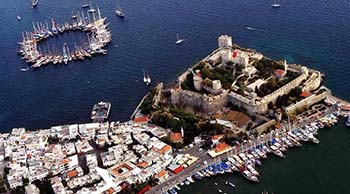 Bodrum - Nord Dodecanese - Bodrum Avec Bateaux A/C