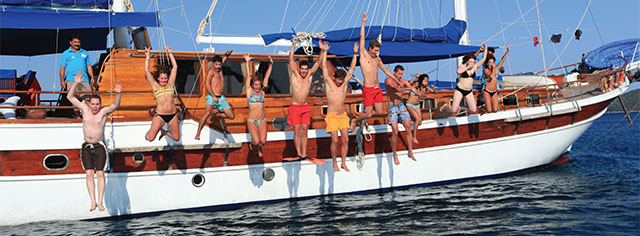 Location de cabines � Bodrum en Turquie  Barbaros Yachting